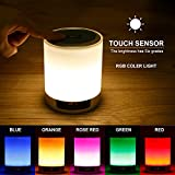 LUCKYKS Bluetooth Lautsprecher Lampe Bewegbar Stimmungslichter Bluetooth Wecker mit LED