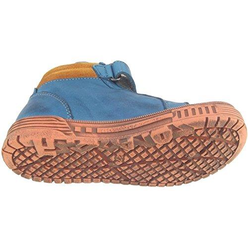 NaturinoNATURINO 3984 - Sneaker alta Bambino Blu (petrolblau (avio/ocra/navy))