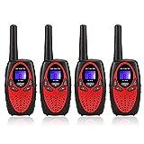 Retevis RT628 Kids Walkie Talkies PMR 446 8 Channels LCD Display VOX Function