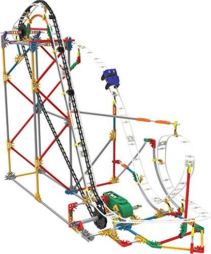 K 'nex 31764–Thrill Rides–Blizzard Blast Roller Coaster–561Pieces–9+–Diseño y de construcción de Juguete