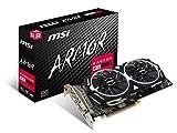 MSI Radeon RX 580 ARMOR 4G OC Radeon RX 580 4GB GDDR5 - Tarjeta gráfica (Radeon RX 580, 4 GB, GDDR5, 256 bit, 7000 MHz, PCI Express x16 3.0)