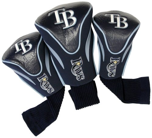 mlb-tampa-bay-rays-contour-head-cover-pack-of-3-navy