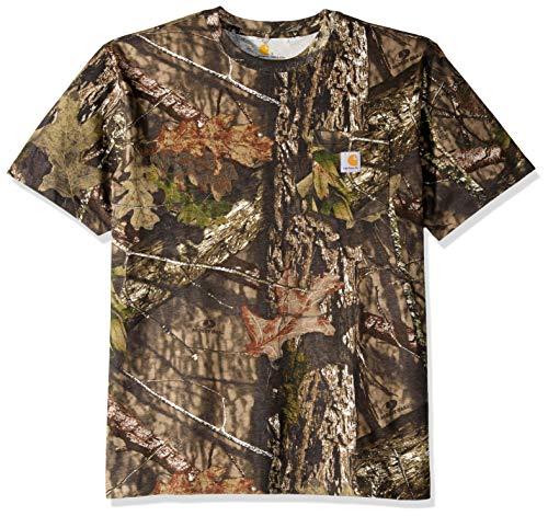 Carhartt Mens K287 Camo Short Sleeve Cotton T Shirt Tee