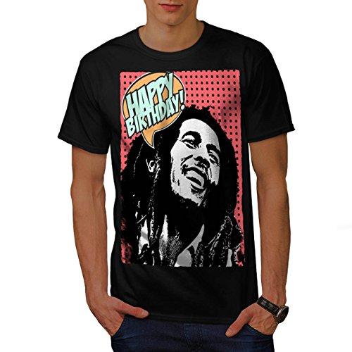 Bob Marlety Pot Geburtstag Bob Marley Herren S T-shirt   (Halloween Marley Bob Kostüme)