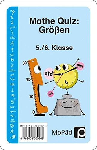 Mathe-Quiz: Größen: 5. und 6. Klasse