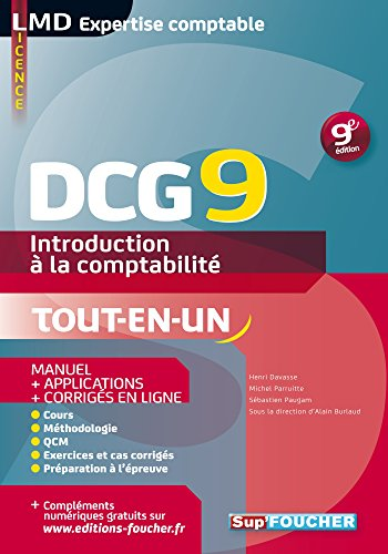 DCG 9 - Introduction  la comptabilit - Manuel - 9e dition