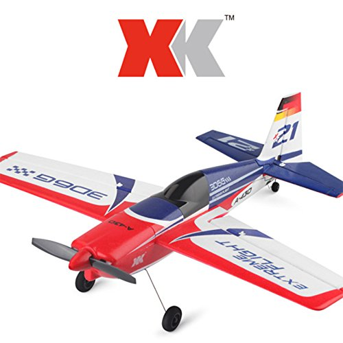 Ocamo XK A430 XK A-430 Drohne mit 2,4G 8CH 3D6G Brushless Motor Fernbedienung Dron Flugzeug (Fernbedienung Flugzeug-motoren)