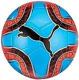 PUMA FINAL 6 MS Trainer Fußball, Bleu Azur-Red Blast Black, 4