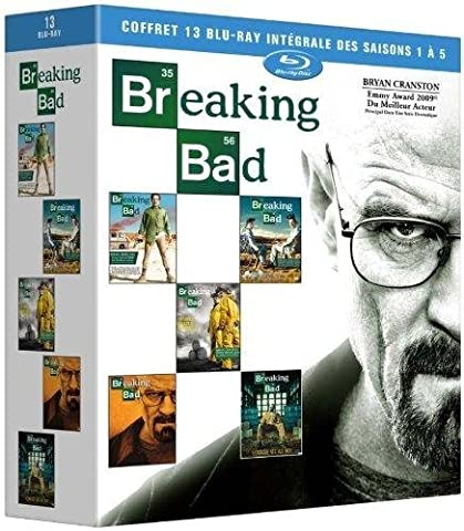 Breaking Bad - Intégrale des saisons 1 à 5 (1ère partie de la saison 5) [Blu-ray]