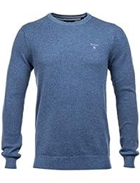 Gant Piqué Crew Sweater, Suéter para Hombre