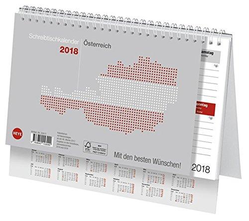 Schreibtischkalender Österreich klein - Kalender 2019 (Stand Kalender)