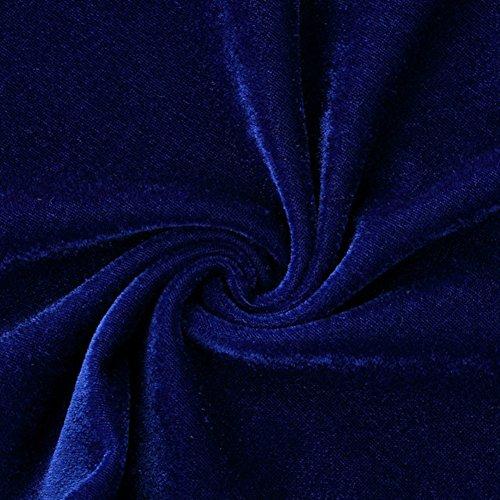 Wanmingtek - Canottiera -  donna Blue