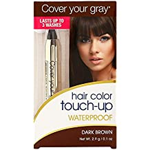 Cover Your Gray Hair Color Touch-Up Waterproof Dark Brown