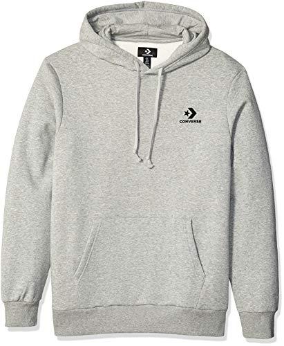 Converse Star Chevron PO Hoodie VGH Sweatshirt Herren grau (Vintage Grey Heather)