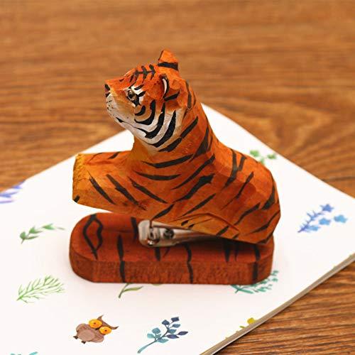 Papeterie créative en bois faite main en bois avec mini animal...