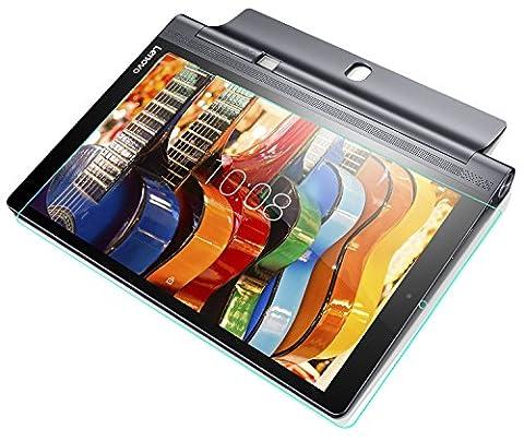 Lenovo yoga Tab 3 Plus 10 Pro protecteur écran, KuGi ® Lenovo yoga Tab 3 Plus 10 Pro protecteur écran, High Quality protecteur d'écran 9H Dureté HD clair Verre trempé pour Lenovo yoga Tab 3 Plus 10 Pro