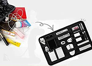 As Seen On TV Grid Organizer for Digital Gadgets, Accessories, Utility Items, Stationaries and Other Items (Colour May Vary)