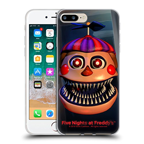 Official Five Nights At Freddy's Nightmare Balloon Boy Game 4 Soft Gel Case for iPhone 7 Plus / iPhone 8 Plus