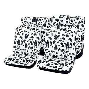 housses voiture 6 pieces couvre si ges auto vache cuisine maison. Black Bedroom Furniture Sets. Home Design Ideas