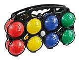 Fun Play Idena 7400014 Boccia mit 8 Kugeln, Kunststoff