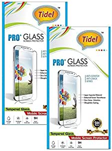 Tidel 2.5D Curved Tempered Glass Screen Guard Protector For Micromax Canvas Knight Cameo A290 (pack of two)
