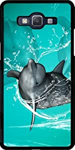 Coque pour Samsung Galaxy Grand Prime (SM-G530) - Dauphin Drôle