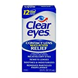 Best Dry Eye Drops - Clear Eyes Contact Lens Relief Soothing Drops, 0.5 Review