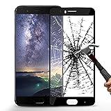 Protection écran OnePlus 5, ikalula Haute Transparence OnePlus 5 en Verre Trempé Screen Protector Résistant Dureté 9H Écran de protection pour OnePlus 5 - Noir, 1 Pack