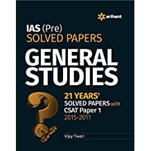 IAS (Pre.) Solved Papers General Studies (Old Edition)
