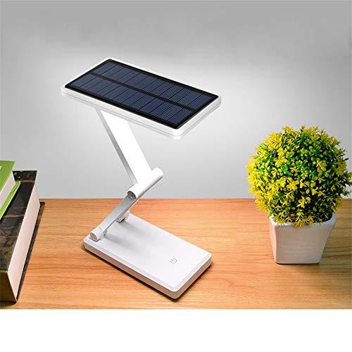 Energiesparende Solarzelle Faltbare Verstellbare Wiederaufladbare Schreibtischlampe Mit Aufladbarer Leselampe Led Schreibtischlampe Studentenzimmer Schreibtisch Nachttischlampe Augenschutzlampe