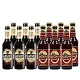 Irish Bier Mix- Guinness Extra Stout 4,1% vol. und Kilkenny Irish Beer 4,2% vol. inkl. Pfand (12 x 0.33 l)