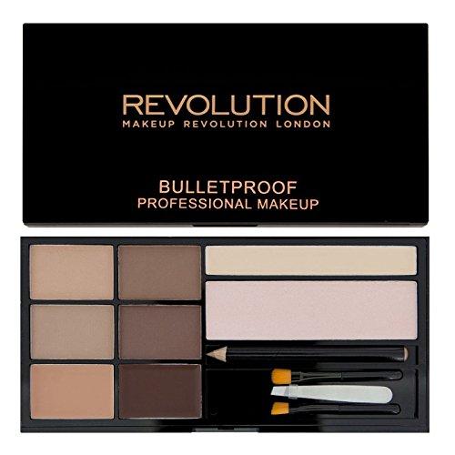 Makeup Revolution Ultra Brow Augenbrauen Kit Fair to Medium