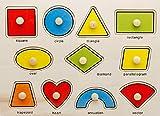 TFXWERWS Educational Creative Classic Holz Form passenden Gekoppelt Puzzles für Kinder