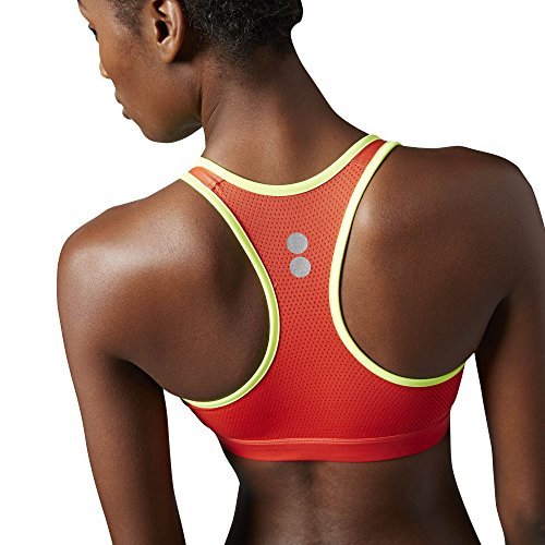 Reebok Running Essentials Short Brassière de sport Rouge - Laser Red