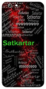 Satkartar (Lord Vishnu) Name & Sign Printed All over customize & Personalized!! Protective back cover for your Smart Phone : Samsung Galaxy S4mini / i9190