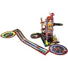 Blaze And The Monster Machine Blaze & Monster Machine Parking de 3 plantas con guarda juguetes (Saica 2172)