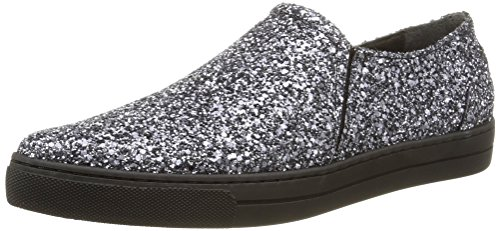 Eleven Paris - Sharp Glitter, Sneakers da donna, argento (silver), 38