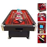 BILLARD AMERICAIN 7ft Mesure 188 cm x 96 cm Modele Red Devil Full Oprional - NEUF table de pool Snooker meuble salon table de billard