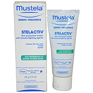 mustela stelactiv diaper rash cream 75ml baby. Black Bedroom Furniture Sets. Home Design Ideas