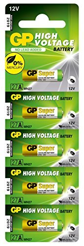GP 27A 12V Alkaline Battery-Single by GP Batteries 27a 12 Volt-alkaline-batterie