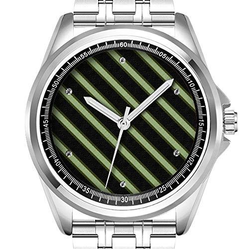 Personalisierte Herrenuhr Mode wasserdicht Uhr Armbanduhr Diamant 582.Geschenke für Absolventen eWatch Watch