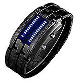 Ritter Style Blue LED Herrenuhr - Futuristic Super Cool Herren