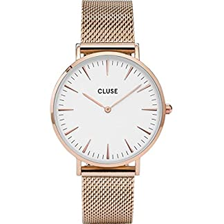 Cluse-Damen-Armbanduhr-Analog-Quarz-Edelstahl-CL18112