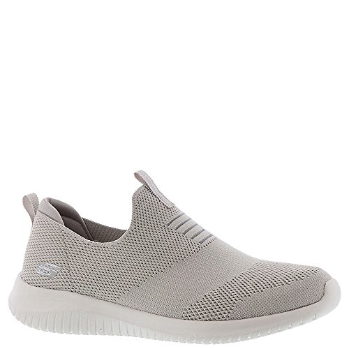 Skechers Damen Ultra Flex-first Take Slip On Sneaker Taupe