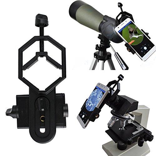 PEMOTech Fernglas-Adapter, universelles Fernglas Fernglas Teleskop Mikroskop Smartphone-Adapter...