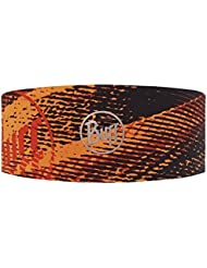 Original Buff Flash Logo Orange Fluor - Headband Tech unisex, diseño estampado