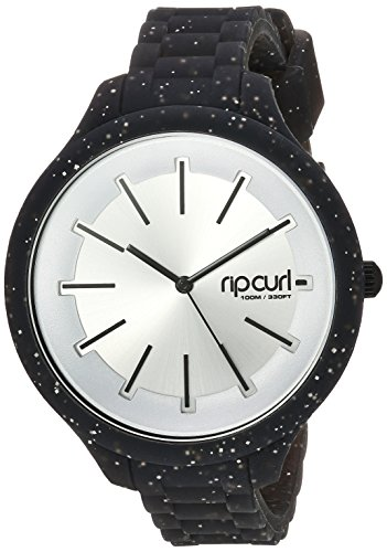 Rip Curl 'Horizon' Quartz Plastic and Silicone Sport Watch, Color: Black (Model: A2974G-NVA) image