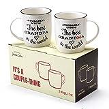 Best Grandpa Grandmas - Janazala Probably The Best Grandparents Ever Coffee Mugs Review