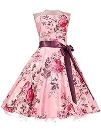 3eb58cae7c8db Amazon.it  rockabilly - Linea ad A   Vestiti   Donna  Abbigliamento