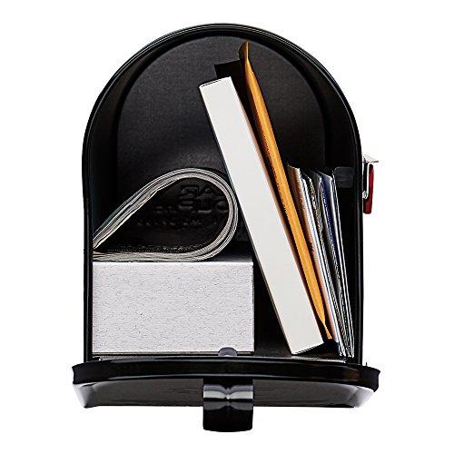 Original U.S. Mailbox – ELITE – Stahl – schwarz – Gr. T1 Art. E1100B00 - 3
